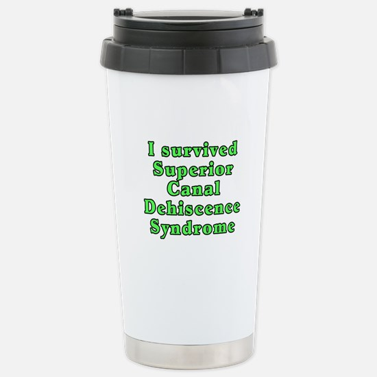 I survived SCDS - Stainless Steel Travel Mug
