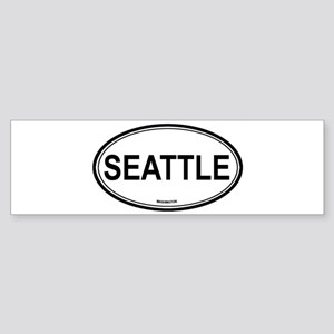 Seattle (Washington) Bumper Sticker