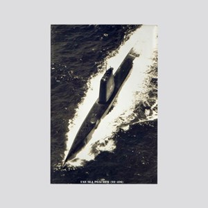 USS SEA POACHER Rectangle Magnet