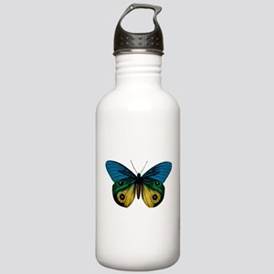 Butterfly Eyes Stainless Water Bottle 1.0L