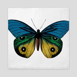 Butterfly Eyes Queen Duvet