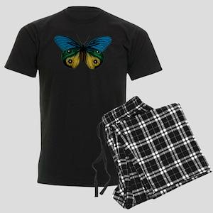 Butterfly Eyes Men's Dark Pajamas