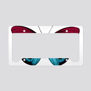 Butterfly Eyes License Plate Holder
