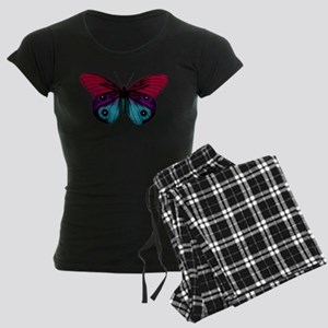 Butterfly Eyes Women's Dark Pajamas