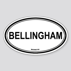 Bellingham (Washington) Oval Sticker