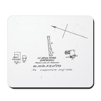 Wolters Brewery Mousepad