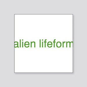 "alienlifeform Square Sticker 3"" x 3"""