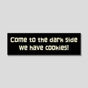 darkside pink cookies Car Magnet 10 x 3