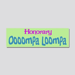 honoraryooomp Car Magnet 10 x 3
