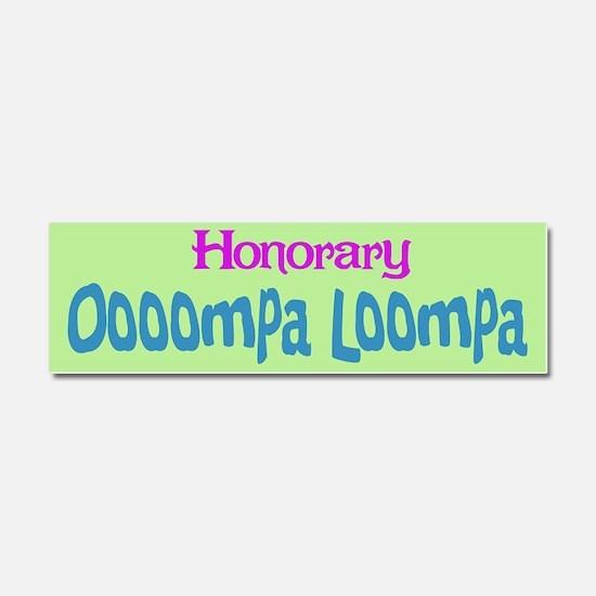 honoraryooomp.png Car Magnet 10 x 3
