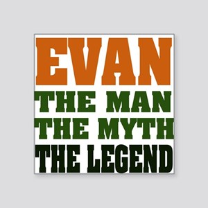 "EVAN Square Sticker 3"" x 3"""