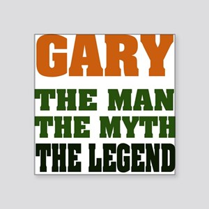 "GARYMML Square Sticker 3"" x 3"""