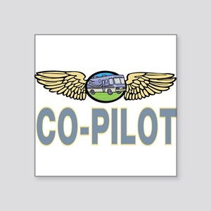 "RVcopilot5 Square Sticker 3"" x 3"""