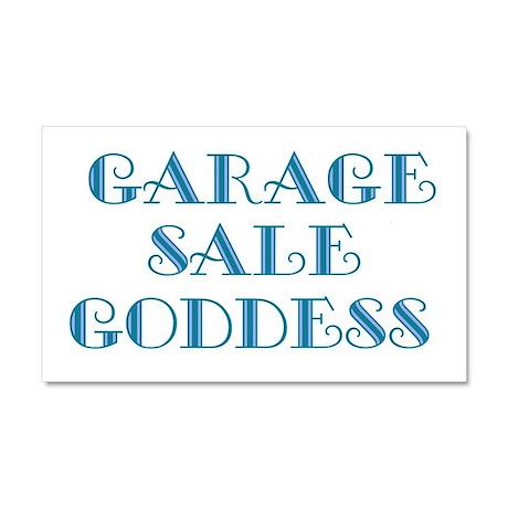 garage sa;e gpddess3.png Car Magnet 20 x 12