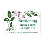 gardeningaddslife Rectangle Car Magnet
