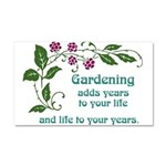 gardeningaddslife Car Magnet 20 x 12