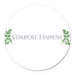 composthappens45 Round Car Magnet
