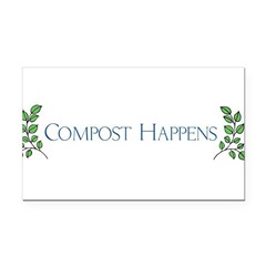 composthappens45 Rectangle Car Magnet