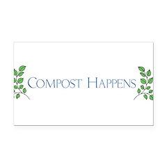 composthappens45.png Rectangle Car Magnet