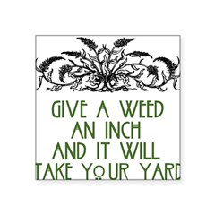 weed221 Square Sticker 3