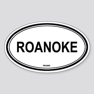 Roanoke (Virginia) Oval Sticker