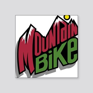 "32190526mountainbike2 Square Sticker 3"" x 3"""