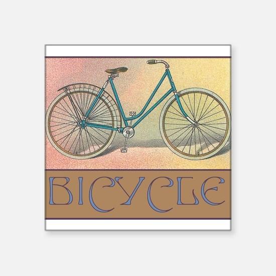 "bike52.jpg Square Sticker 3"" x 3"""
