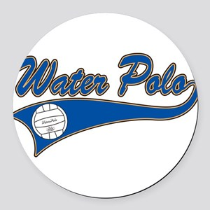 33038671waterpolo Round Car Magnet