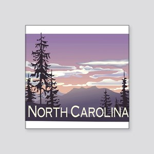 "1074h5406smokymountains Square Sticker 3"" x 3"""