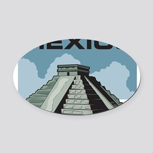 33042285mexico Oval Car Magnet