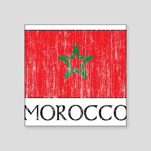 """1663292Morocco Square Sticker 3"""" x 3"""""""