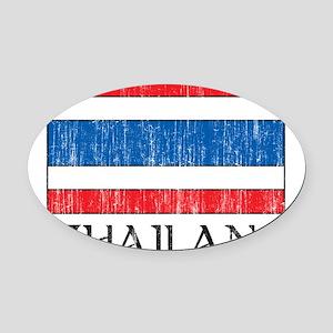 1663388Thailand Oval Car Magnet