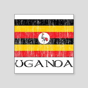 "uganda00100002437 Square Sticker 3"" x 3"""
