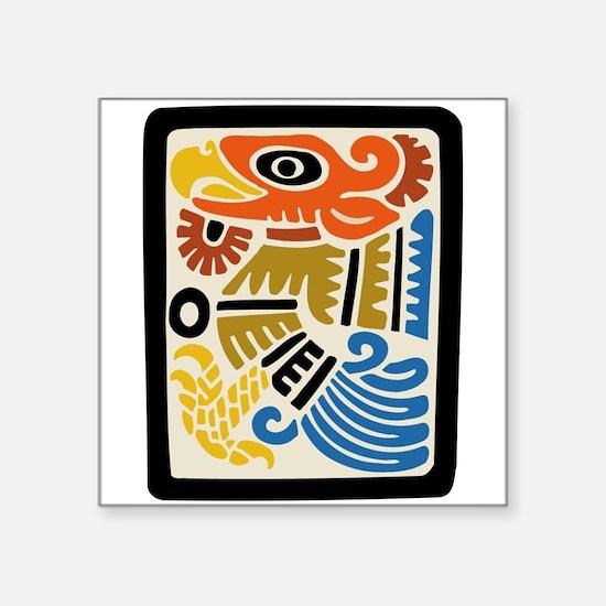 "bird272trans.png Square Sticker 3"" x 3"""