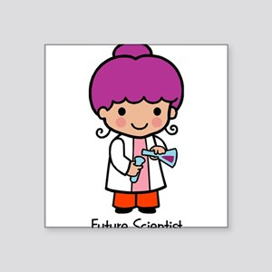 "21333967futurescientist Square Sticker 3"" x 3"""