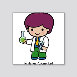 "21333945futurescientist Square Sticker 3"" x 3"""