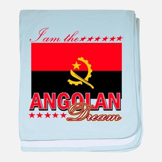 I am the Angolan Dream baby blanket
