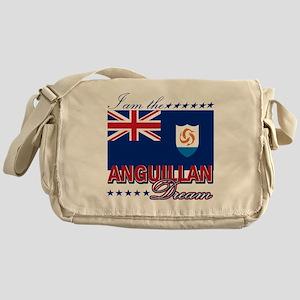 I am the Anguillan Dream Messenger Bag