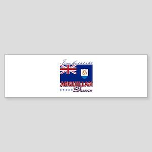 I am the Anguillan Dream Sticker (Bumper)