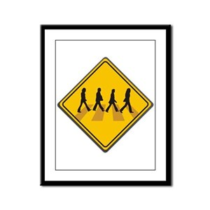 Abbey Road Xing Framed Panel Print