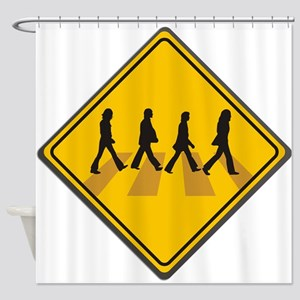 Abbey Road Xing Shower Curtain