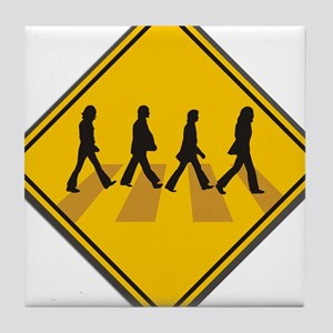 Abbey Road Xing Tile Coaster