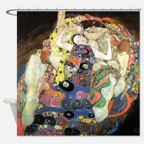 Gustav Klimt Virgin Shower Curtain