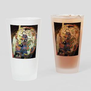Gustav Klimt Virgin Drinking Glass