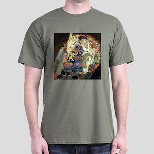 Gustav Klimt Virgin Dark T-Shirt
