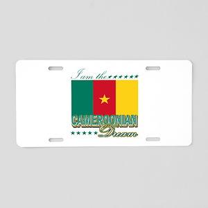 I am the Cameroonian Dream Aluminum License Plate