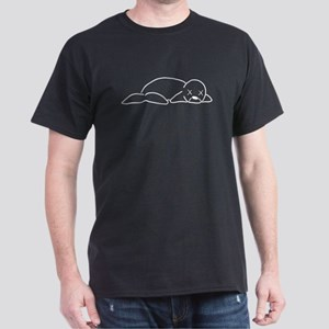 Dead Seal Men's Black T-Shirt