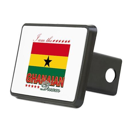 I am the Ghanaian Dream Rectangular Hitch Cover