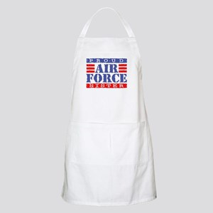 Proud Air Force Sister BBQ Apron