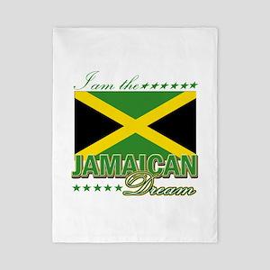 I am the Jamaican Dream Twin Duvet